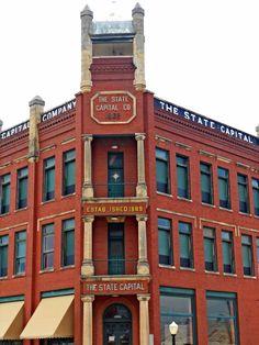 Guthrie was the original capital city of Oklahoma - 1907