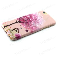 Patterned TPU Cover for iPhone 6 / 6s 4.7 inch - Beautiful Flowering Tree