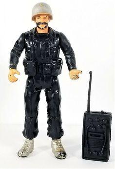 GI Joe Battle Gear Accessory Pack #1 Snake Eyes AMMO BAG pouch Vtg weapon 1983