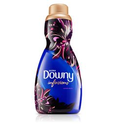 Downy Infusions Orchid Allure Liquid Fabric Softener - exotic pomegranate and rich, mysterious musk scent layers