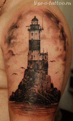 Значение тату маяк