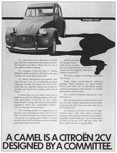 Citroën Publicity British 2CV