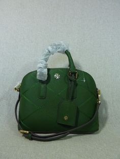 62794017a16 NWT Tory Burch Bottle Green Mini Robinson Stitched Dome Cross Body Bag -   425  ToryBurch