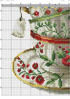 Cross Stitch Owl, Cross Stitch Kitchen, Cross Stitch Flowers, Cross Stitch Charts, Cross Stitching, Cross Stitch Embroidery, Wedding Cross Stitch, Hand Embroidery Flowers, Vintage Cross Stitches