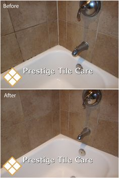Recaulking bathtub surround tiles