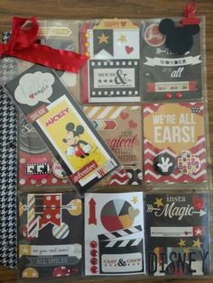 Disney Pocket Letter