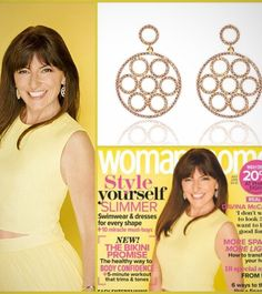 We think @davinalpmccall looks like a golden goddess on the July cover of @womanandhome wearing our gold Olympic earrings.  shop them online www.latelita.com  #jewellery #jewelry #designer #fashion #featured #davinamccall #womanandhome #fashionblogger #latelita #london #earrings #gold #goldengodess #yellow #style #photoshoot #sparkle #dazzle #fashionaddict #picoftheday #ootd #instadaily #kensington #knightsbridge #houseoffraser #ijl2015 #celebrity #love #colourful