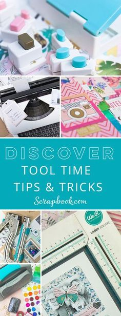 83 Best Scrapbooking Tools Images On Pinterest In 2018