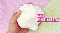 Como hacer Porcelana Fría casera (RECETA FÁCIL) // Cold porcelain recipe OK