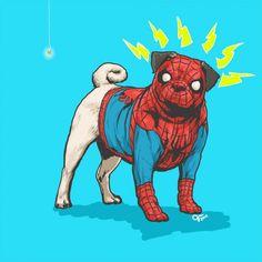 Superhéroes de Marvel versión canina | Planeta CuriosoSuperhéroes de Marvel versión canina | Planeta Curioso