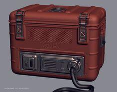 ArtStation - Ammo crate 2012, OccultArt _