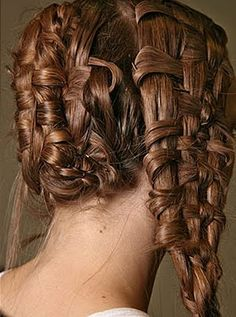 Basket weave! You know I love to get my braid on.