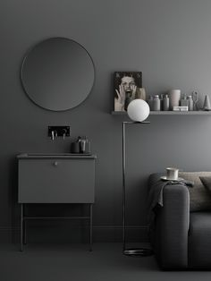 simple bathroom collections for the design conscious - bathroom range by Swedish furniture company Swoon - Styling by Lotta Agaton