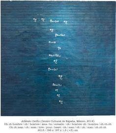 Antón Lamazares • Pintura • Alfabeto Delfín