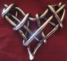 strong heart Silver Jewellery, Jewelry, Arts And Crafts, Strong, Heart, Bracelets, Jewlery, Jewerly, Schmuck