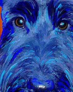 Scottish Terrier Art portraits396 x 50038KBartpaw.com