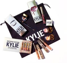 Kylie Jenner/Kylie cosmetics birthday limited edition products