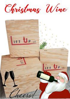 I nostri regali per i nostri dipendenti!! #christmas #gift #natale #wine #box #liftup #carrellielevatori #forklift #vino #cheers #cincin #holidays #festività #branding #logo Christmas Wine, Branding, Bread, Brand Management, Brot, Baking, Breads, Identity Branding, Buns