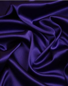 A lightweight silk and elastane blend stretch satin fabric in deep violet. Silk Satin Fabric, Silk Chiffon, Dressmaking Fabric, Stretch Satin, Women Wear, Truro Fabrics, Deep