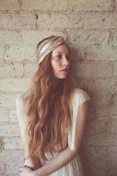 A shimmering sequined turban is the ultimate dress-it-up or dress-it-down accessory. #etsy #festivalstyle