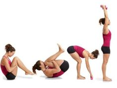 Yoga Fitness Plan - Your Firm-Abs Plan for 40 - Get Your Sexiest. Body Ever!…Without crunches, cardio, or ever setting foot in a gym! Yoga Fitness, Fitness Tips, Fitness Motivation, Fitness Plan, Weight Loss For Women, Easy Weight Loss, Yoga For Flat Belly, 15 Minute Workout, Yoga Moves