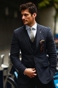 british-lord:David Gandy | No:23969 | メンズファッションスナップ フリーク - 男の着こなし術は見て学べ。