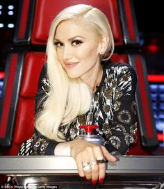 Building her team: Gwen Stefani used a stylish steal on Monday's episode of The Voice on NBC