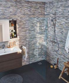 Lambris PVC, MDF : 20 modèles - Côté Maison Bathtub, Bathroom, House, Design, 3d, Inspiration, Shopping, Diy Home, Standing Bath