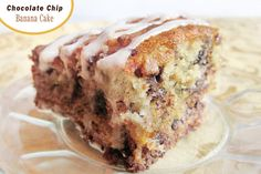 Diddles and Dumplings: Chocolate Chip Banana Cake