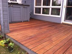 Cabot S Australian Timber Oil Deck Stain In Natural On An Ipe