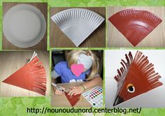 jednoduchý ježek z papírového talíře Forest Animal Crafts, Forest Animals, Plastic Plates, Pre School, Preschool Activities, Halloween, School Ideas, Images, Printables