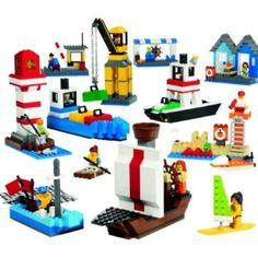 LEGO Education Harbor Set 779337 (906 Pieces) #Lego