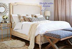 Sleep Well: Stylish Beds & Headboards