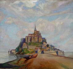 Paintings by Owen Merton.