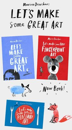 KidStyleFile Loves Books: Let's Make Some Great Art By Marion Deuchars
