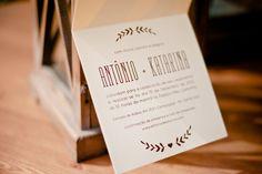 Convite simples de casamento. Aldeia, Recife.  Foto: Mari Feitosa Fotografia