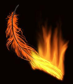 phoenix feather tattoo for ankle...