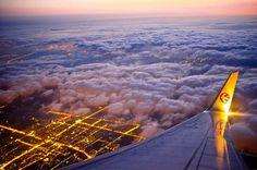 Night Flight - The joy of night flying...