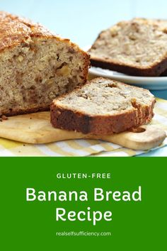 Easy, delicious gluten-free banana bread recipe that you'd never know was gluten-free! Get the recipe right here and enjoy a treat.