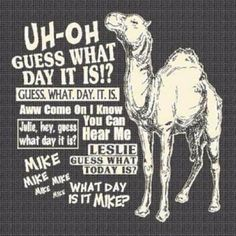 ... guess what day it is!? ;)
