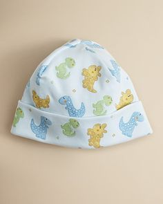 Kissy Kissy Infant Boys' Allover Dino Print Hat - Sizes 0-3 Months | Bloomingdale's