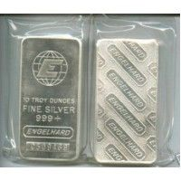 Engelhard 10 Oz Silver Bar $4.00