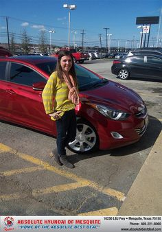 #HappyAnniversary to Whitney Prussia on your 2013 #Hyundai #Elantra from Rubio Martin at Absolute Hyundai!