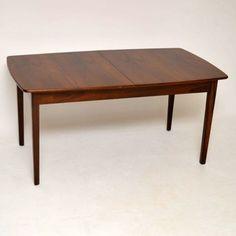 Danish Rosewood Dining Table for sale London retro vintage   retrospectiveinteriors.com
