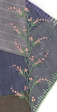 Feather stitch and French knots. Some possible embellishing. #fallintofashion14 #mccallpatterncompany