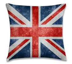 Bandeira Inglesa (capa para almofada 40cm x 40cm) R$39,00 Frete único pra todo Brasil. Pedidos: contato.moofa@gmail.com