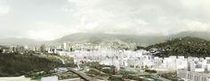 Célula Arquitectura, segundo y tercer lugar por plan maestro en cerros Nutibara y La Asomadera / Medellín