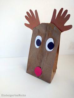 Easy Christmas Gift Wrap for Kindergarten