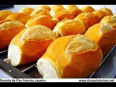 pão frances caseiro facil!! - YouTube