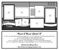 Heart 2 Heart Challenges: H2H Scrapbooking